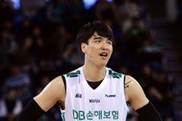 """DB 김종규의 아쉬움 """"이렇게 쉬고 싶지는 않았다"""""""