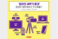 온라인 개학 준비 IT기기 판매 급증