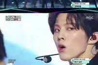 '음악중심' 김우석 솔로데뷔 무대, 섹시 퍼포먼스 폭격