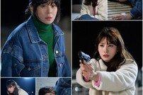 '굿캐스팅' 최강희-유인영, 불안한 눈빛 vs 떨리는 손길 '총격 대치' 투샷