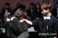 [DA포토]정유지-서은광, 전직 아이돌의 만남