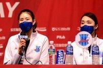 [포토] 김수지 '재미있는 봄배구 펼치겠습니다'