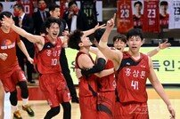 [포토] KGC, 챔프전 4연승으로 우승!