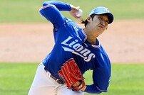 '4월 4승·ERA 1.16' 삼성을 단독 선두로 이끈 원태인, KBO 월간 MVP