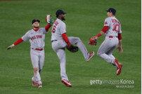 보스턴, MLB 파워랭킹 5주차 1위… 다저스 1위→7위 급락