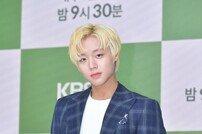 [DA포토] 박지훈, 화려한 금발미남