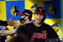 [포토] 채은성, 팀 6번째 홈런포