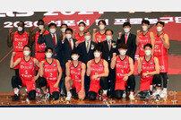 [포토] 한국가스공사 농구단 '우승을 향해'