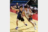 [포토] 김준환 '일반인 참가자의 저력'