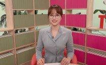 '안경→노브라 생방송' 또 한 번 용기 낸 임현주 아나운서