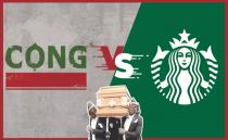 콩카페 VS 스타벅스, 베트남은 왜 스타벅스의 진격이 통하지 않을까?