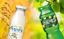 아침햇살 VS 초록매실, 신토불이 음료의 완성판