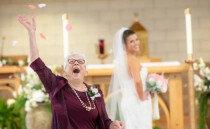 할머니가 '화동'으로 등장? 조금 특별한 결혼식