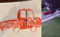 9살짜리 아이의 그림이 범인을 잡다