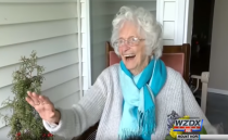 학생들에게 매일 인사해 주던 할머니가 양로원 가던 날