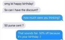 """""""생일이니까 반값에 달라"""" 황당 요구 받아친 디자이너"""