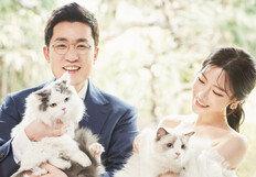 김상민 전 의원 11세 연하 신부와 웨딩마치, 결혼 사진 단독 공개