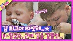 김은 못 참지.. 미국 4형제의 못 말리는 김가루 사랑💓 | JTBC 210511 방송