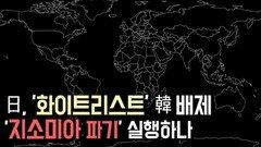 日, '화이트리스트 韓 배제 ...'지소미아 파기' 실행하나