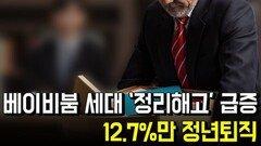 베이비붐 세대 '정리해고' 급증... 12.7%만 정년퇴직