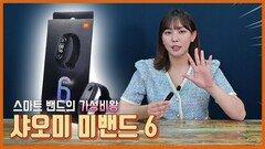 스마트 밴드의 가성비 왕 샤오미 미밴드6