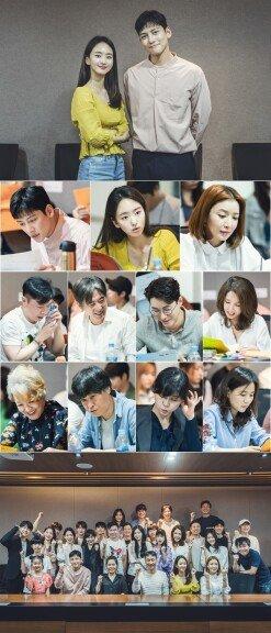 [DAY컷] 지창욱·원진아·윤세아 美친 케미, '날 녹여주오' 대본리딩 공개