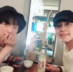 [DAY컷] 안재현·규현, 막걸리 회동→취중 동영상 공개
