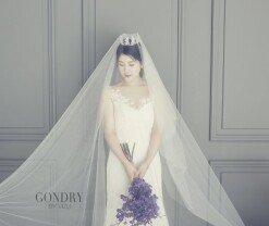 강유미, 8월 3일 결혼…순백의 웨딩 화보
