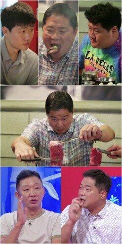 [DA:클립] '당나귀 귀' 현주엽, 고기 30인분 순삭→싹쓸이 먹방 예고