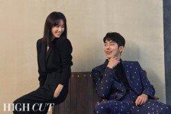 한지민-남주혁, 청룡 수상자 화보 비하인드에서도 '케미 뿜뿜'