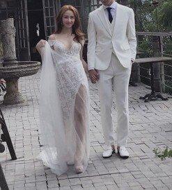 [DAY컷] 선데이, 웨딩화보 촬영현장 공개 '행복한 신부'