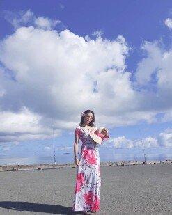 '미스트롯' 숙행, 하와이서 비키니 몸매 과시