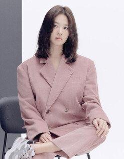 [DAY컷] 송혜교 광고 현장 사진 공개…오늘도 예쁨의 정점