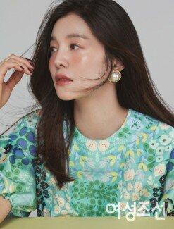"""김성은 """"출산 후 몸매 관리? 과일·채소 자주 먹어"""" [화보]"""