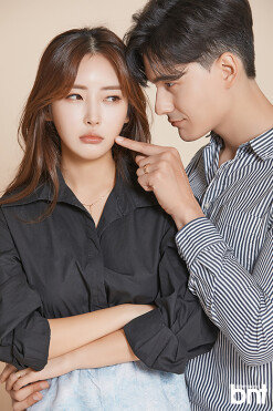 """장민♥강수연 """"코로나19로 결혼 연기, 혼인 신고는 완료"""" [화보]"""