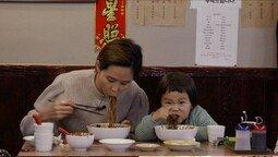 김나영 아들 신우, 이영자도 감탄한 짜장면 먹방