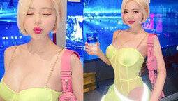 DJ소다, 또 한번 과감한 노출→몸매 부심 폭주