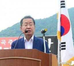 """홍준표 """"조국 임명되면 검사들 총사직하고 한국당 의원 한강 가라"""""""