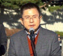 """황교안, 무기한 단식투쟁 돌입…""""탄식·분노로 뒤덮인 文정권"""""""