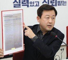 """'검사 출신' 김용남 """"심재철, 얻어맞지 않은 게 다행"""""""