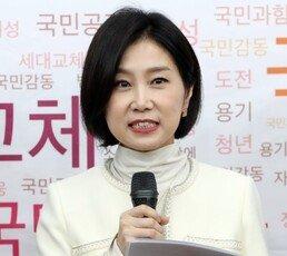 """한국당 '영입 7호' 허은아 """"보수 이미지 확 바꾼다"""""""