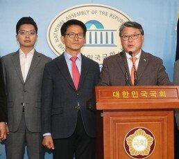 """우리공화·자유통일당 합당 선언…""""미래통합당과 후보단일화 추진"""""""