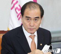 """태영호 """"의회 독재로 가고 있어""""…의장의 상임위원 강제배정 금지 추진"""