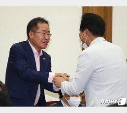 """30억 아파트 홍준표 """"내가 부동산 부자? 23년 전 대출받아 산 딱 한채"""""""