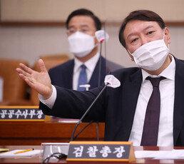 """윤석열 """"검찰총장, 법무장관 부하 아냐…물러날 생각없다"""""""