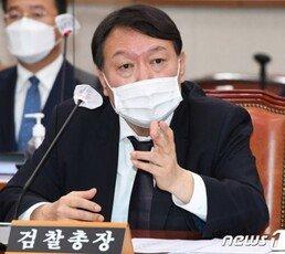 """""""국민에 봉사"""" 발언에…윤석열 '대권 지지도' 15.1%로 급등"""