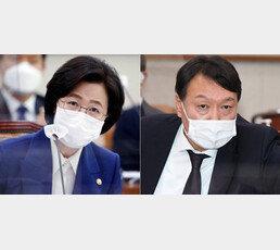 """추미애 尹 향한 '감찰 카드'에…""""검찰 개혁, 근본부터 실패"""" 檢 내부 반발"""