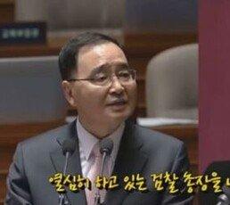 """""""열심히 하는 검찰총장 내쫓았지 않느냐"""" 秋 발언 부메랑"""