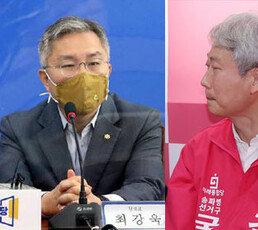 """최강욱 """"尹 악어의 눈물""""…김근식 """"국어실력 모자란건가?"""""""