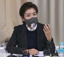"""나경원, 박영선 저격 """"박원순 피해자 외면, 미안함 없나"""""""